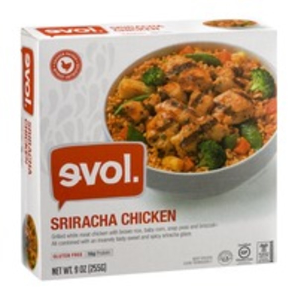 Evol Foods Sriracha Chicken