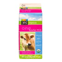 365 Organic Low Fat 1% Milk