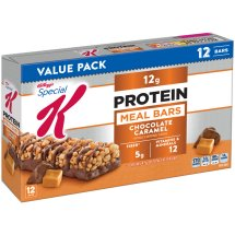 Kellogg's Special K Bar, 12 Grams of Protein, Chocolate Caramel, 1.59 Oz, 12 Ct