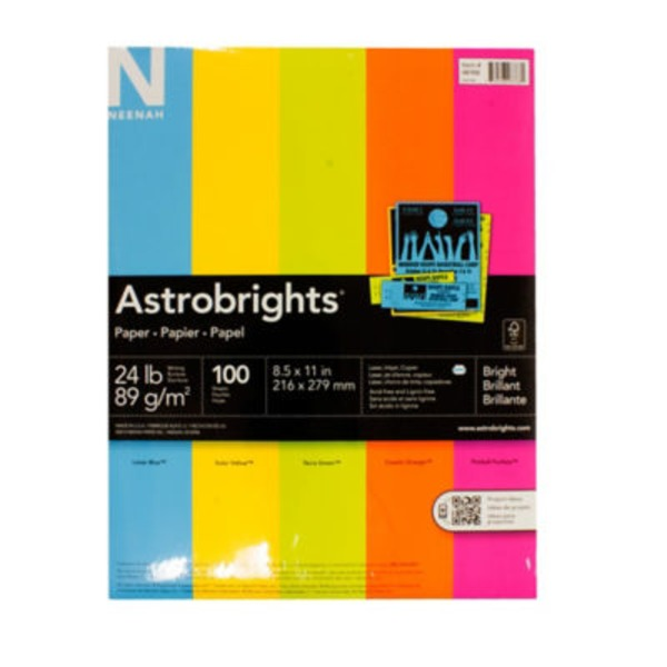 Astrobrights Computer Brights Paper