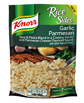 Knorr Side Meal Garlic Parmesan Rice