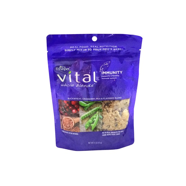 Freshpet Vital Whole Blends Immunity Recipe, Mix In Meal Enhancer for Dogs