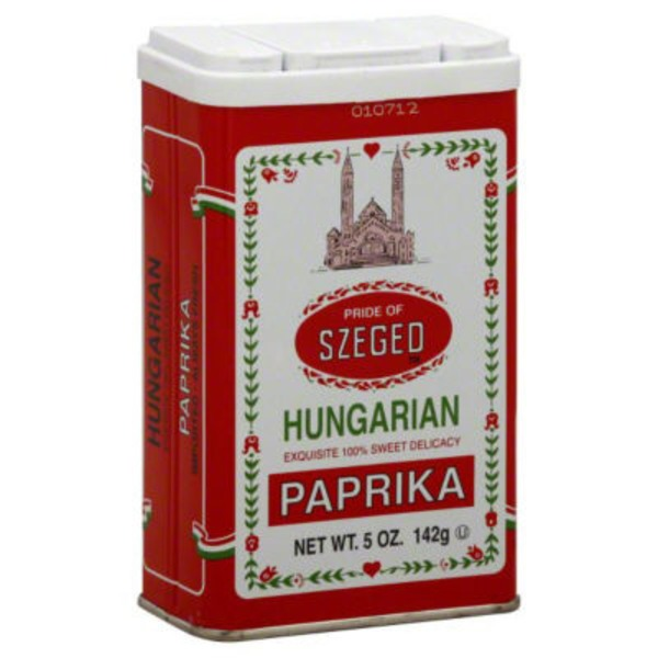 Pride of Szeged Paprika Hungarian