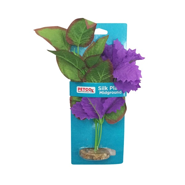 Petco Imagitarium Purple Cluster Silk Plant