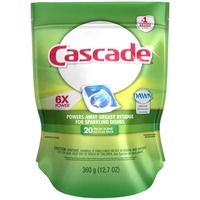 Cascade Dishwasher Detergent, Action Pacs, Fresh Scent