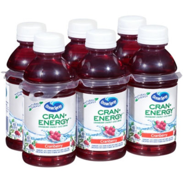 Ocean Spray Cran-Energy Cranberry Energy Fruit Drink