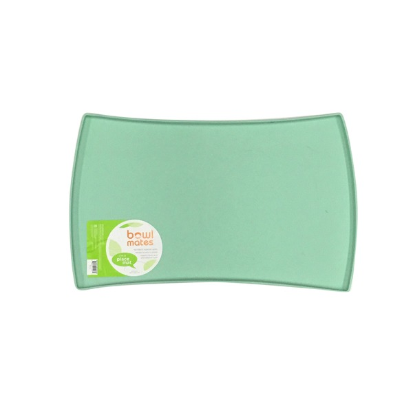 Bowlmates Small Mint Silicone Dog Placemat