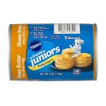 Pillsbury Grands!™ Junior Refrigerated Biscuits Golden Layers Honey Butter 5 ct 6.0 oz Can, 6.0 OZ