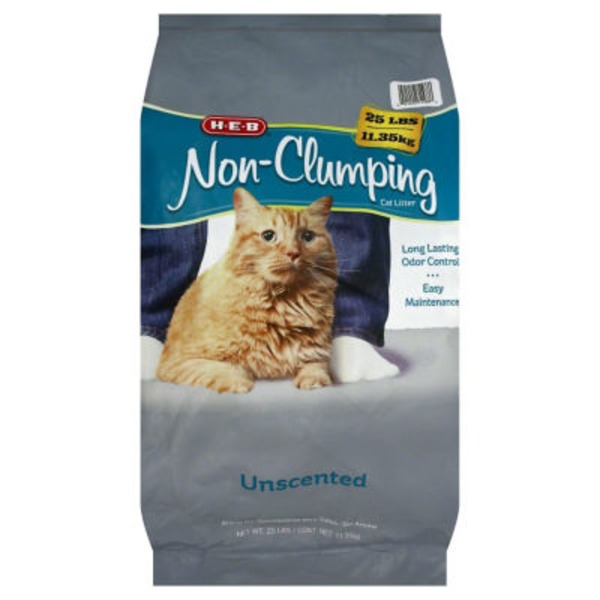 H-E-B Non Clumping Unscented Cat Litter