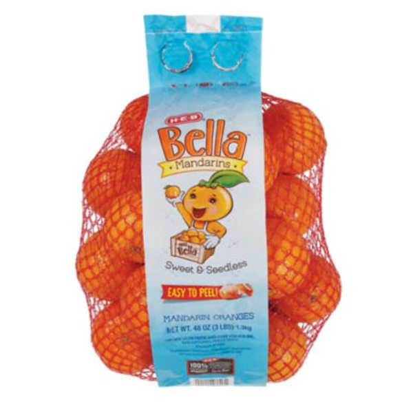 H-E-B Bella Sweet And Seedless Mandarins