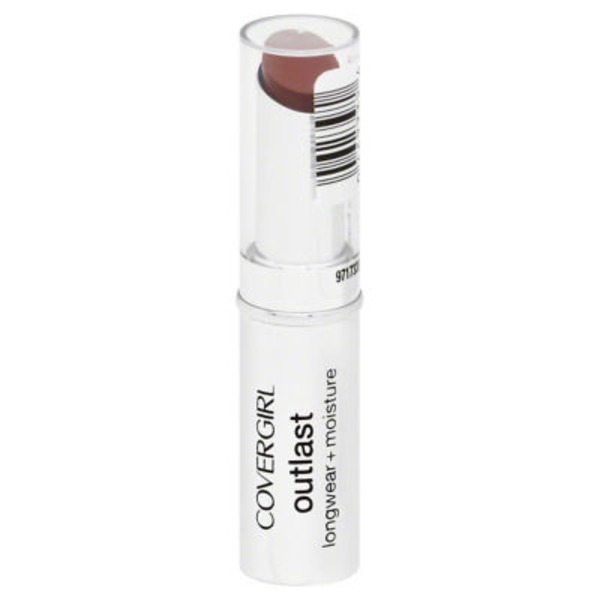 CoverGirl Outlast COVERGIRL Outlast Longwear Lipstick Amazing Auburn .12 oz (3.4 g) Female Cosmetics