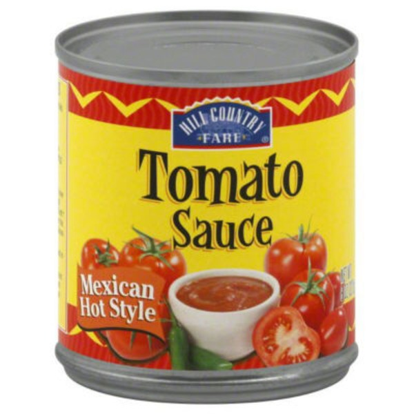 Hill Country Fare Mexican Hot Style Tomato Sauce