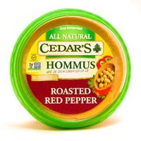 Cedar Roasted Red Pepper Hommus