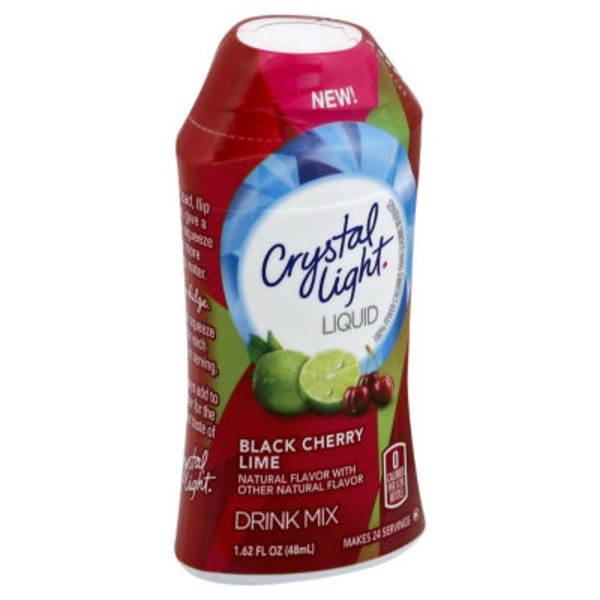 Crystal Light Black Cherry Lime Liquid Drink Mix