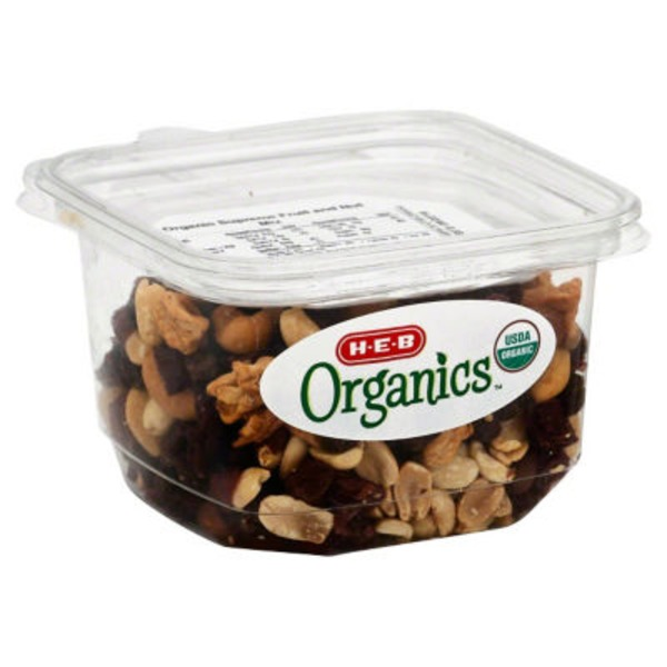 H-E-B Organic Supreme Fruit & Nut Mix