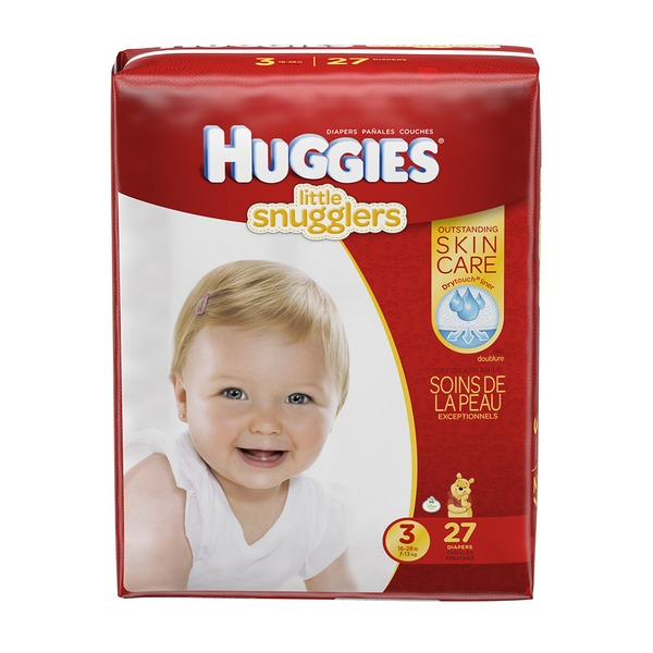 Huggies Supreme Little Snugglers Size 3 Diapers