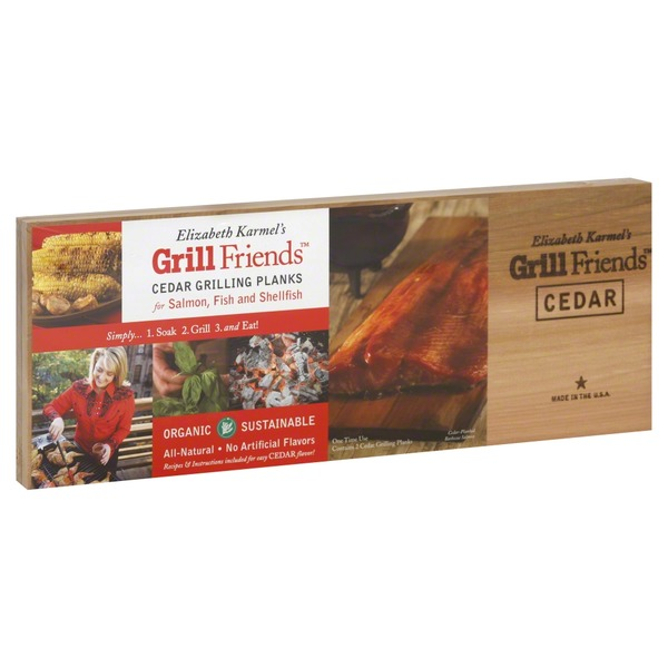 Grill Friends Grilling Planks, Cedar
