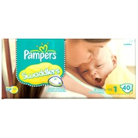 Pampers Swaddlers Jumbo Pack Size 1 Diapers