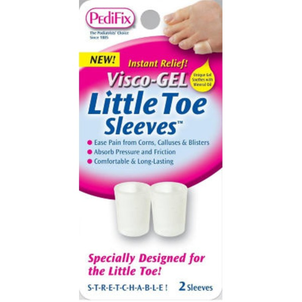 PediFix Visco-Gel Stretchable Little Toe Sleeves