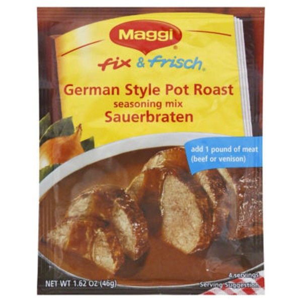 Maggi Fix & Frisch German Style Pot Roast Sauerbraten Seasoning Mix