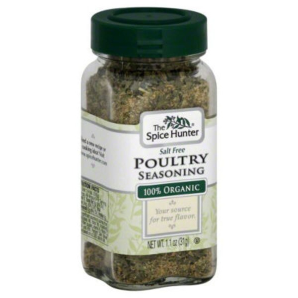 The Spice Hunter Poultry Seasoning, Salt Free