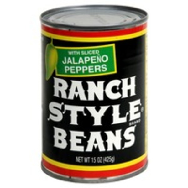 Ranch Style Brand Beans With Sliced Jalapeno Peppers