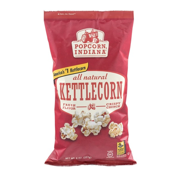 Popcorn, Indiana All Natural Kettle Corn