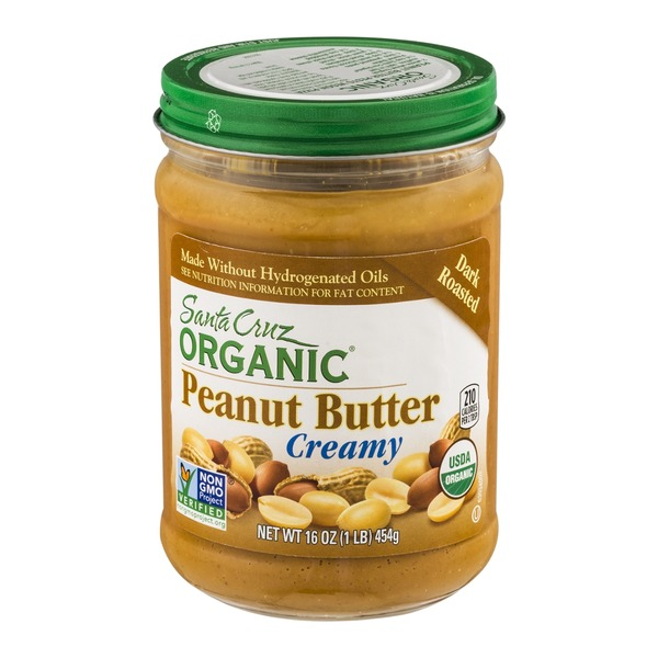 Santa Cruz Organics Creamy Peanut Butter Dark Roasted