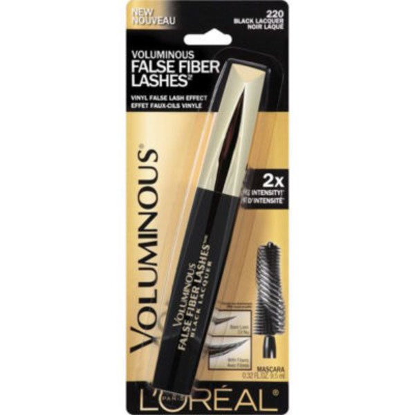 Voluminous False Fiber Lashes 220 Black Lacquer Mascara