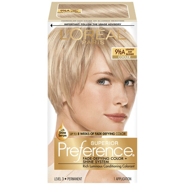 Superior Preference Cooler 9-1/2A Lightest Ash Blonde Hair Color