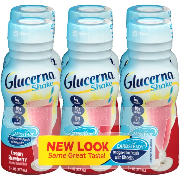 Glucerna Creamy Strawberry Diabetic Shake