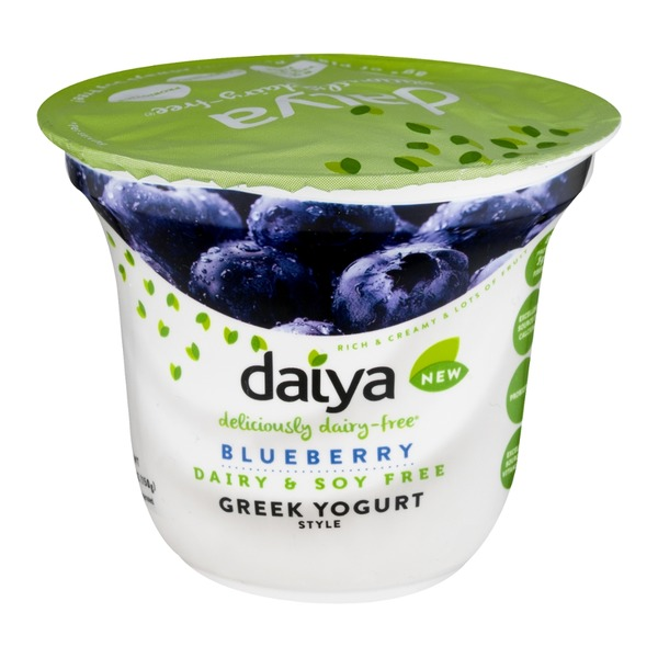 Daiya Dairy Free Greek Yogurt Blueberry