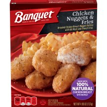 Banquet Chicken Nuggets and Fries, 4.85 Ounce