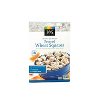 365 Bite Sized Frosted Wheat Squares Cereal