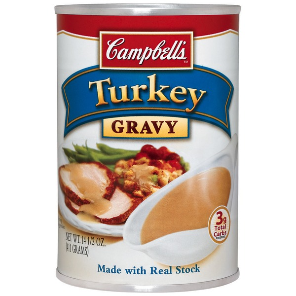 Campbell's Turkey W/Real Stock Gravy