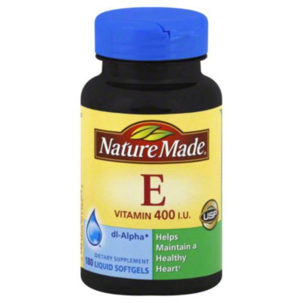 By Nature Made Vitamin E Dietary Supplement