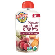 Earth's Best Organic Baby Food Puree Sweet Potato & Beets, 3.5 OZ