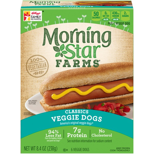 Morning Star Farms Veggie Dogs