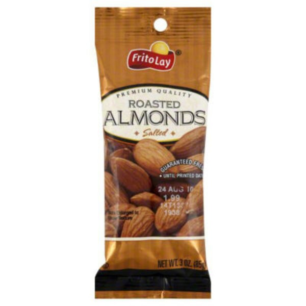 Frito Lays Roasted Salted Almonds