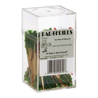 Par-t-Frills Cellophane Frills Toothpicks - 240 CT