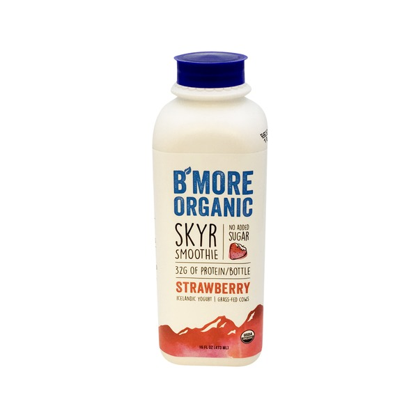 B'more Organic Skyr Strawberry Smoothie