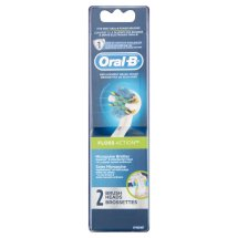 Oral-B FlossAction Replacement Electric Toothbrush Head 2 Count