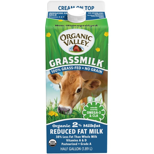 Organic Valley Grassmilk Organic 2% Reduced Fat Milk