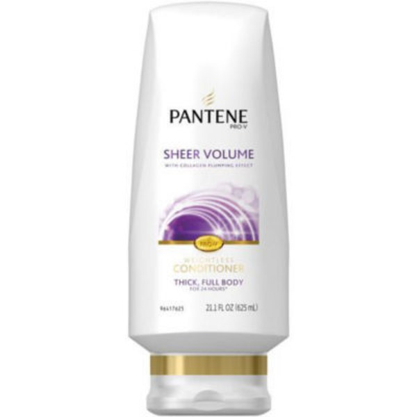 Pantene Flat to Volume Pantene Pro-V Sheer Volume Conditioner 20 fl oz - Volumizing Conditioner  Female Hair Care