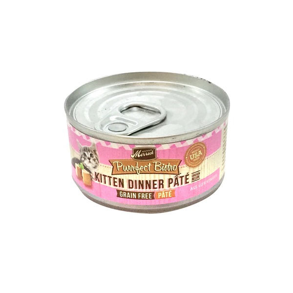 Merrick Purrfect Bistro Kitten Grain Free Dinner Pate