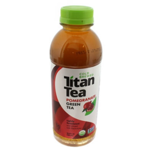 Titan Tea Organic Pomegranate Green Tea