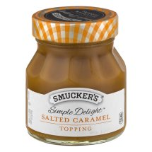 Smucker's Simple Delight Salted Caramel Topping, 11.5 oz