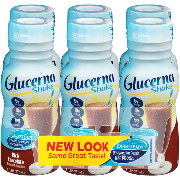 Glucerna Rich Chocolate Diabetic Shake