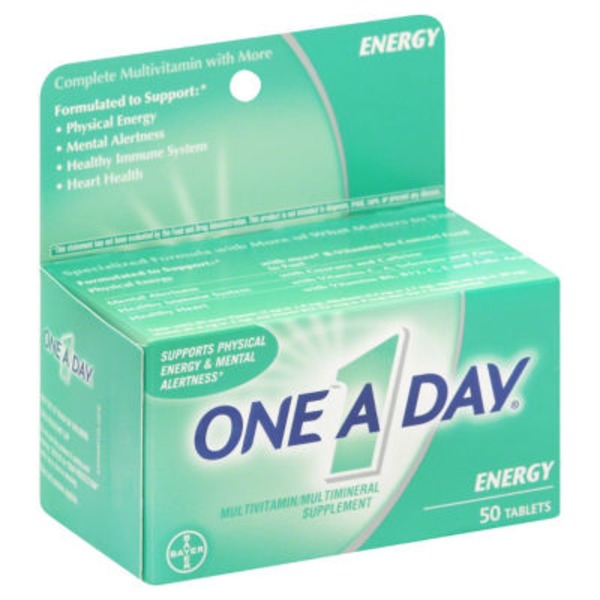 One A Day Energy Multivitamin/Multimineral Supplement
