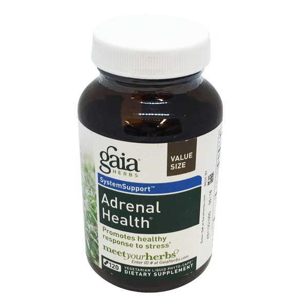 Gaia Herbs Adrenal Health Liquid Phyto-Caps